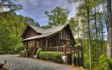 ^CUSTOM BRITISH COLUMBIAN LOG HOME^ This 4BR, 3.5BA architecturally designed lodge is located in a premier gated community in the Aska Adventure Area near Lake Blue Ridge & the Toccoa River. Massive l