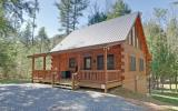NATIONAL FOREST &TOCCOA RIVERFRONT LOG CABIN 3 BR, 3 Bath Home w/beautiful hardwood floors, all tongue and grove interior, granite in kitchen/baths, custom cabinetry,gas log FP, large porches overlook