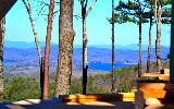 UNBELIEVABLE LAKE & MOUNTAIN VIEWS^^^ ^only 5 miles from Downtown Blue Ridge in the NEW & EXCITING Askas Grand Vista Community. 4 Bd/3.5 Ba ProwFront Cabin... featuring Glass from Top to Bottom overlo