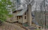 Charming creek side cabin in sought after Mountain Tops Community, premier development w/ paved roads & very close distance to historic downtown Blue Ridge. Totally secluded; feels like cabin is in mi