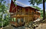 EXPERIENCE this Masterpiece View of ^9^Mountain Ranges from this Romantic CHALET ... located in the RICH MOUNTAIN PRESERVE Area of Gilmer Co. Meticulously Maintained Cabin features a Great Rm w/Floor