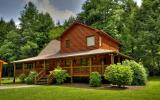 ~WATERS EDGE LODGE~ A FISHERMANS DREAM - Fish from your front porch! ~ Enjoy cascading prime water frontage on the Toccoa River from this 3BR, 2BA cabin style home. Situated privately on flat usable l