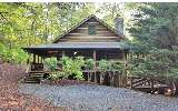 The cabin you have been waiting for ! In the heart of Aska , one owner ,like new, true log with wrap around porch , screen porch , huge deck , hot tub , fire pit, double roof construction , private ,