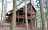 Water lovers, outdoorsman, rafters, fishermans PARADISE! Totally secluded 2 bedroom (PLUS LOFT), 2.5 bath TRUE LOG HOME on a beautiful stretch of MTN TOWN CREEK! The attention to craftsmanship detail