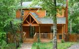 "Beautiful two story ""retreat"" in the North Ga. mountains COMES COMPLETELY FURNISHED!! Chink log-siding with full basement stubbed for third bathroom, finish how you like - plenty of room for additiona"