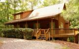BRAND NEW TO THE MARKET! Coosawattee River Resort, a gated river access community, affords you the perfect get-away for this nearly 1,700 sq ft cabin style home. Situated on a nicely wooded lot w/seas