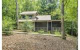 Trout Fishing out your back door! WOW,Cabin in the woods on beautiful Young Cane Creek. Enjoy wooded priviacy on the large screened porch and listen to the creek go by. Main floor has 2 bedrooms, one