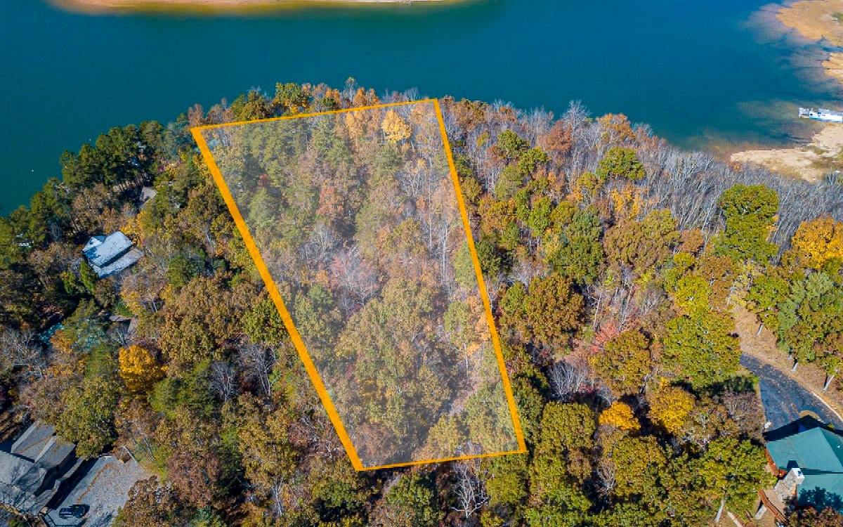 293409 Morganton Lake Front Lot