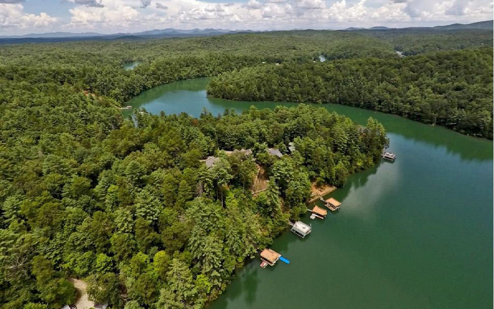 305817 Blue Ridge Lake Front Lot