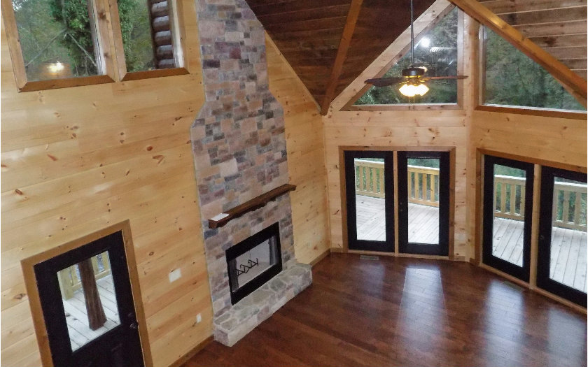 Glass Lodge Blue Ridge Ga : N toccoa river road mineral bluff ga us blue ridge