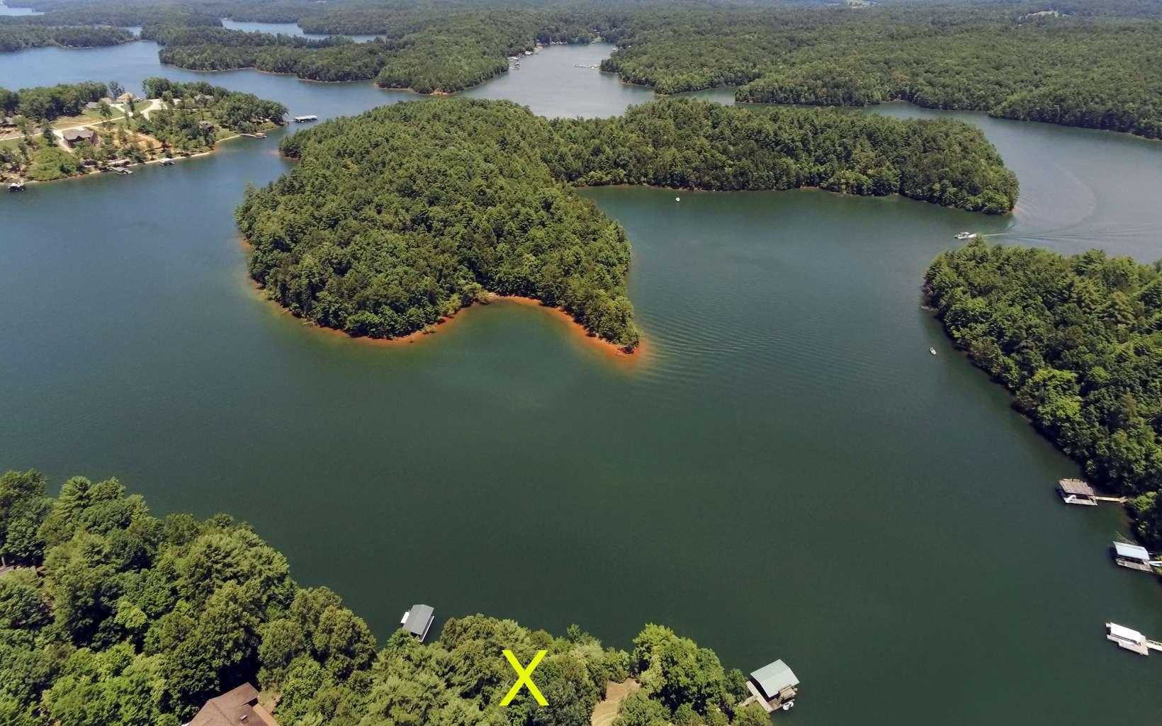 289730 Blairsville Lake Front Lot