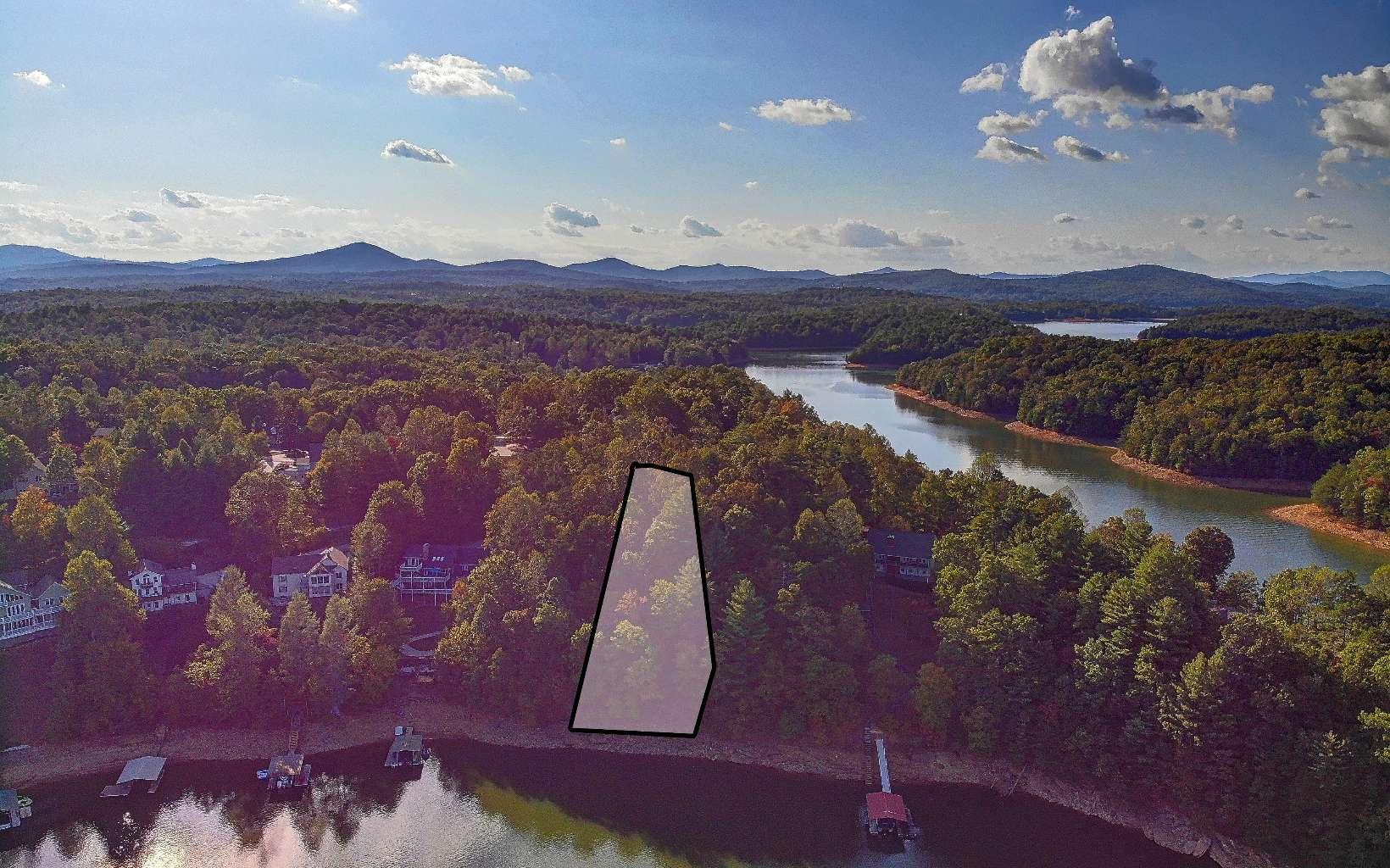 305937 Blairsville Lake Front Lot