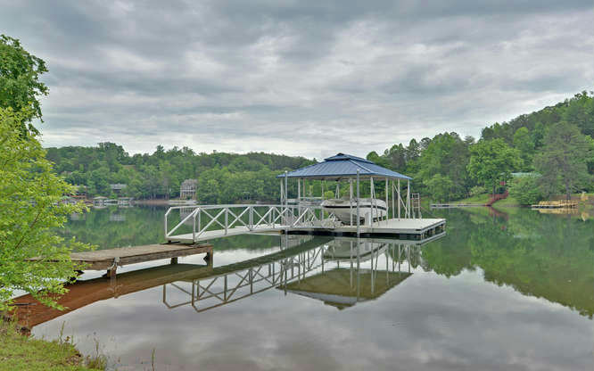 266248 Hiawassee Lake Front Lot