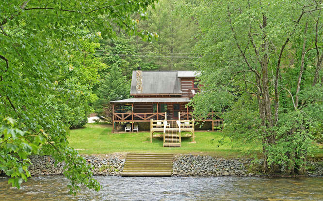 Toccoa River Homes Cabins For Sale North Georgia Mountains
