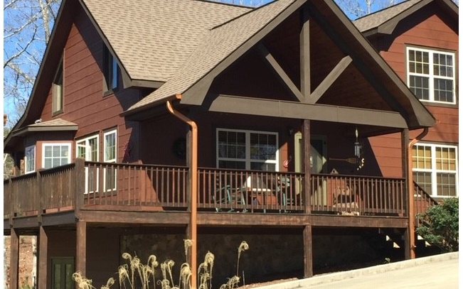 North Georgia Mountain Blairsville Log Cabins/Homes for Sale