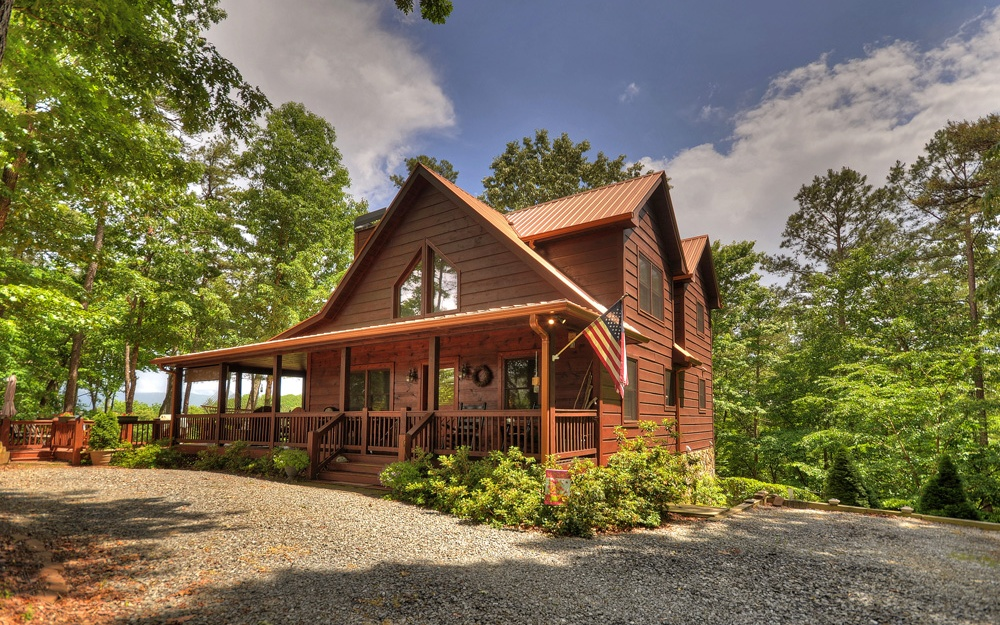 ellijay sold blue cherry ranch ga cabins bloom ridge homes the design rustic serving willows