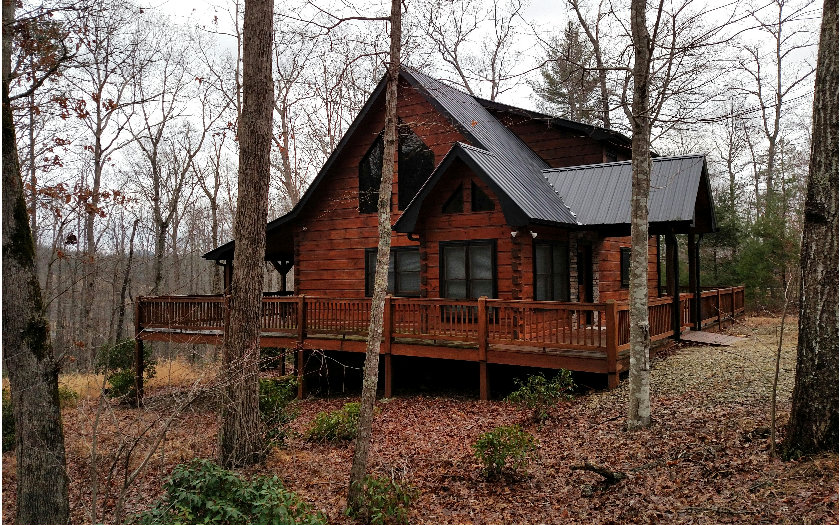 North Georgia Mountain Blairsville Log Cabins Homes For Sale