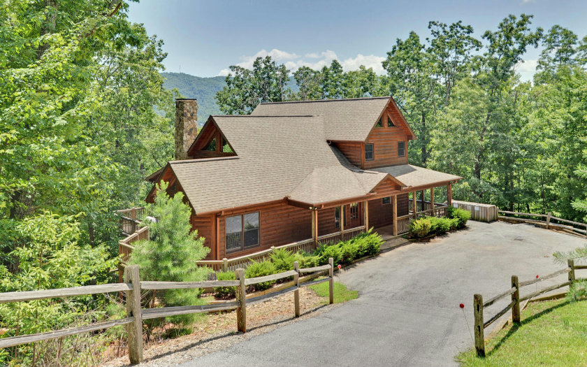260696 blue ridge for Large cabins in north georgia mountains