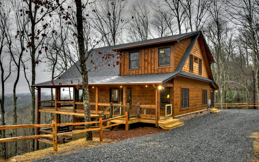 Blue Ridge North Georgia Mountain Log Cabins Homes For Sale