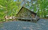 Original chink log cabin sitting on 1.72 acres in My Mountain. Loaded...