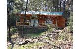  Fully Furnished Log Sided/Ranch Style 1Bed/1Bath Mtn Cabin on .55+/- &...